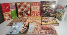 Lot of 10 Cookbooks/Recipe & 1 Crafts Books Bundle - Betty Crocker Taste of Home
