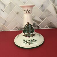 Spode Christmas Tree Candle Stick Holder S3324-F36 | England