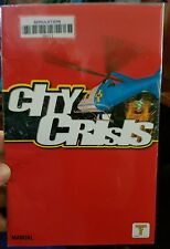 BOOKLET/MANUAL ONLY FOR CITY CRISIS (EX RENTAL) PS2 (NO GAME)-  FREE POST