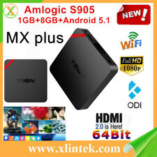 T95N Mini MX + S905 de cuatro núcleos 1GB+ 8 GB 2.4 gwifi Android Smart TV Box Hdmi 4K*2K