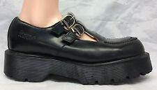 Dr Martens Sz 7 UK 9 US Women's Black Double Strap Mary Jane Shoes 8305 England