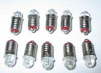 LED Ersatzlampen für Hausbeleuchtungen E5.5 16-24V  -  10 Stück   *NEU*