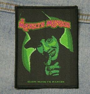 Marilyn Manson Smells like children sew  on patch retro Official merchandise