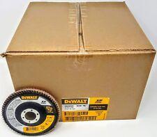 """(40) DEWALT DWA8282 4-1/2"""" X 7/8"""" 80 G T29 XP CERAMIC FLAP DISCS"""