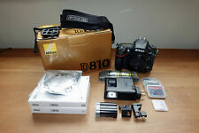 Nikon D810 36.3 MP Digital SLR Camera - Black (Body Only), Actuations 4,647