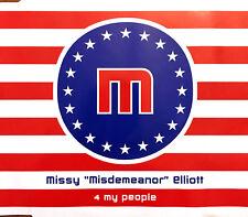 """Missy """"Misdemeanor"""" Elliott Maxi CD 4 My People - Promo - Europe (VG/EX)"""