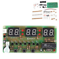 C51 Digital DIY Electronic Clock DIY Kit 6 Bits Electronic Components PN NTA uW