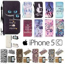 !! DESTOCKAGE !! Etui Coque Housse porte cartes XXL Colors Case Cover iPhone 5C