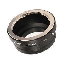 kompatibel Contax/Yashica Objektiv an M 4/3 MFT Systemkamera Adapter