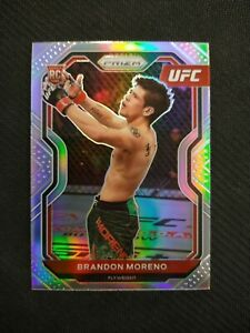 2021 Prizm UFC Debut SILVER Refractor #38 BRANDON MORENO Rookie FLYWEIGHT