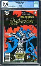 DETECTIVE COMICS 577 1$PRICE VARIANT CGC 9.4 MCFARLANE BATMAN CANADIAN NEWSSTAND