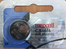 1616 Maxell CR1616 BR1616 ECR1616 5021LC Lithium Battery Qt.1 Exp 2020.