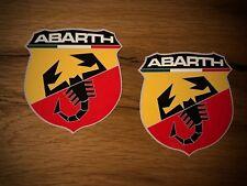 2x Fiat Autocollant 500 X L 4x4 CROSS ABARTH 695 BIPOSTO Punto Panda Italie #275