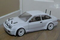 RC Body Karo 1/10 scale model Ford Sierra Cosworth RS500