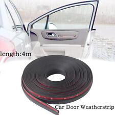 4M 160'' Z-shape Window Door Rubber Seal Strip Hollow Weatherstrip For Car Motor