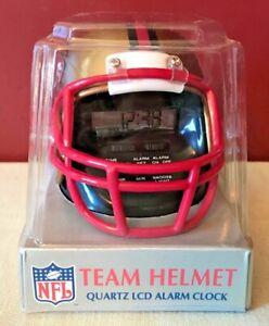 Vtg 90s Sportstime NFL Team Helmet San Francisco 49ers Alarm Clock NEW