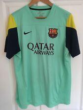 2012/2013 FC Barcelona Entrenamiento Camiseta De Fútbol Nike FCB Qatar Airways XL para hombres