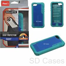 Genuine Ballistic Every1 Series Protection Green/Blue Case for iPhone 5