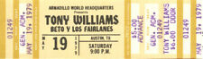 Tony Williams Concert Ticket 1979