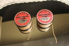 VINTAGE ASHAWAY SQUIDDING LINE 2-WOOD SPOOLS 36 LB TEST 50 YARDS NEW OLD STOCK