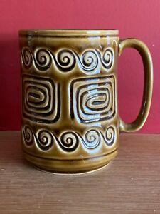 VGC VINTAGE SYLVAC MUG No 4038 - Brown - Totem design
