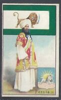 COPE COPES-FLAGS ARMS & TYPES OF ALL NATIONS (NUMBERED)-#21- PERSIA