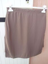 short jupette taupe taille 38