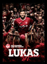 Lukas Spalvig Autogrammkarte 1 FC Kaiserslautern 2017-18 Original Signi+A 174623
