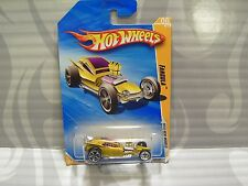 "2010 HOT WHEELS ''NEW MODELS"" #8 = FANGULA  = GOLD"