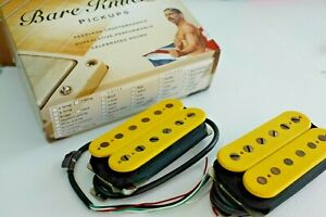 Bare Knuckle Pickups BKP Emerald and Rebel Yell set