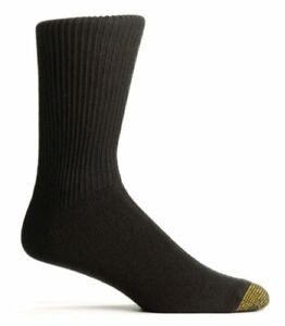 Gold Toe Men's Fluffies Casual Sock, Khaki, 10-13 (Shoe Size, Navy, Size 10.0