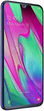 Samsung Galaxy A40 64 GB Android Dual-SIM 5.9 Inch Smartphone -BLUE