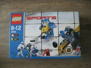 lego sports hockey slammer + wind-up motor 3545 boite neuve 2003 NHL