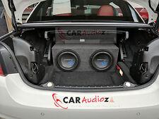 """BMW SERIE 4 F33 F83 decappottabile Cabriolet 10 """" SOTTO / sub doppio Porting"""