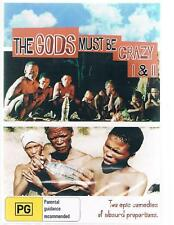 DVD:THE GODS MUST BE CRAZY 1 & 2 - NEW Region Free