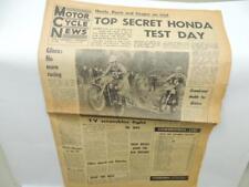 Feb 15 1967 Motor Cycle News Newspaper Honda Motocross Greeves Triumph L11609