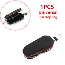 Auto Truck Car Key Bag Leather Feet Zipper Key Chains Remote Control Cover Case Fits Kia Soul