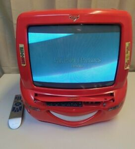 Disney Cars CRT Tv/Dvd Combo with Remote