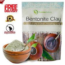 Indian clay Bentonite Detox pure edible 16 oz 100% Natural Powder Face Mask NEW
