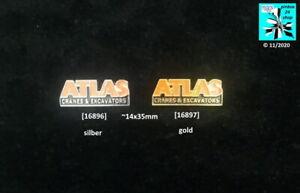 ATLAS CRANES & EXCAVATORS Pins original Abzeichen AUSSUCHEN