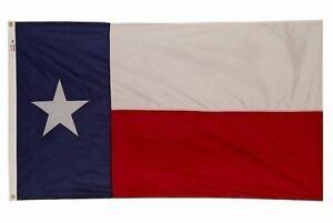 3x5 State of Texas Perma Dye Flag 3'x5' House Banner Premium