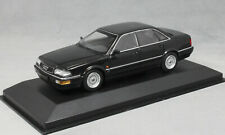 Minichamps Maxichamps Audi V8 in Black Metallic 1988 940016000 1/43 NEW