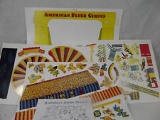 Reproduction American Flyer No 5002T Cardboard Cut-Out Circus set
