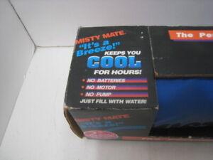 Misty Mate Cool Blast Personal Portable Air Cooler Mister Pump Belt New