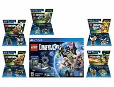 Lego Dimensions Batman Starter Pack + 5 Extra Fun Packs Playstation 4 PS4 New !!