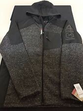 New Men's Reebok Outerwear Full-Zip Jacket Hoodie Style OMRB049H Size Large