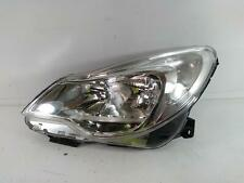 2013 VAUXHALL CORSA 13432891 Headlight NS Left Passenger Lamp 408