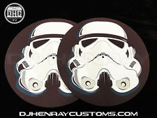 Trooper Og Dj Slipmats (pair) sl1200mk2 mk5 m3d m5g Technics or any turntable