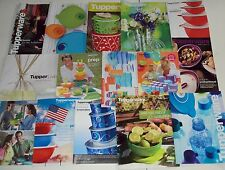 Tupperware Catalogs and Sales Flyers Brochures Lot E 15 Pieces