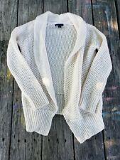 Gap Kids ~ Girls Ivory Sweater Jacket ~ Size 10